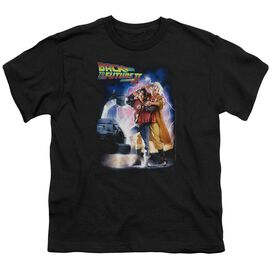 Back To The Future Ii Poster Short Sleeve Youth T-Shirt