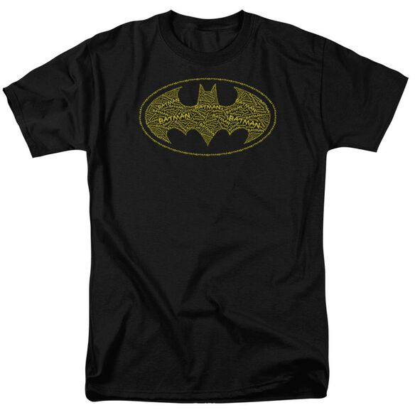 Batman Type Logo Short Sleeve Adult T-Shirt
