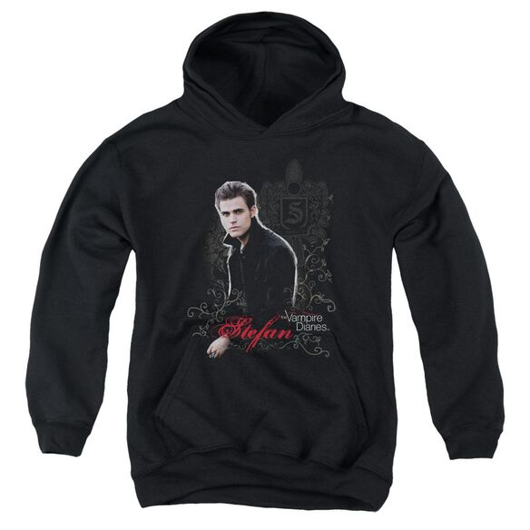 Vampire Diaries Stefan Youth Pull Over Hoodie