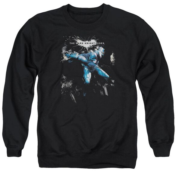 Dark Knight Rises What Gotham Needs Adult Crewneck Sweatshirt