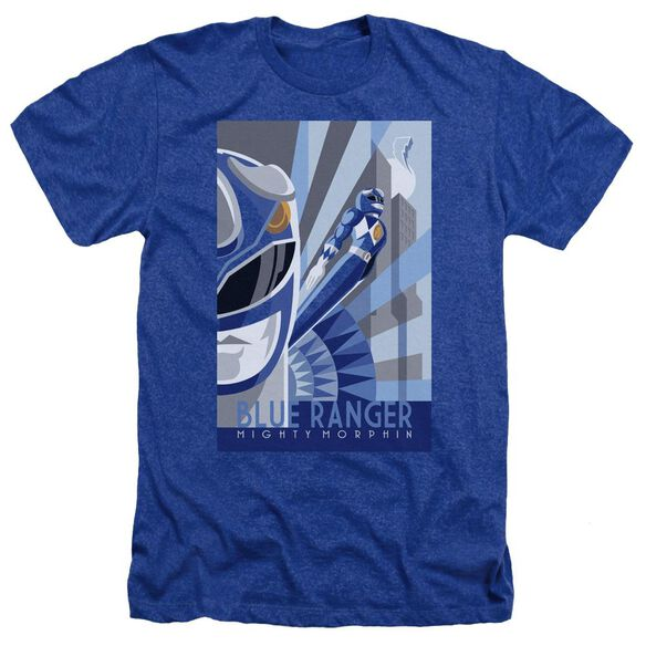 Power Rangers Ranger Deco Adult Heather Royal