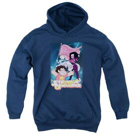 Steven Universe Crystal Gem Flag Youth Pull Over Hoodie