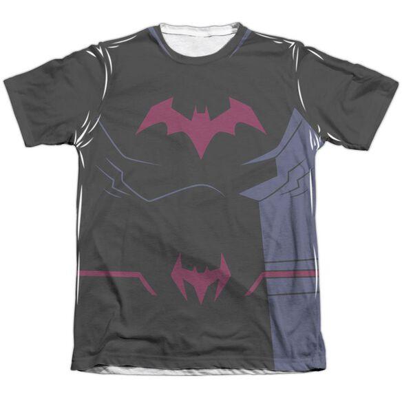 Batman Unlimited Batman Black Uniform Adult Poly Cotton Short Sleeve Tee T-Shirt