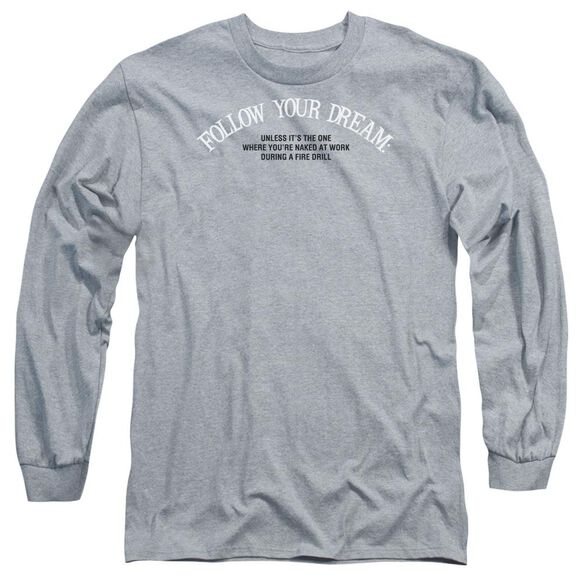 Naked At Work Long Sleeve Adult Athletic T-Shirt