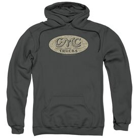 Gmc Vintage Oval Logo Adult Pull Over Hoodie