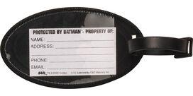 Batman Logo Protected by Batman Luggage Tag