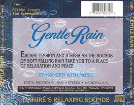 Various Artists - Gentle Rain: Nature's Relaxing Sounds