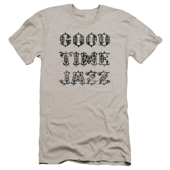 Good Time Jazz Gtj Vintage Premuim Canvas Adult Slim Fit