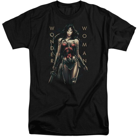 Wonder Woman Movie Armed And Dangerous Short Sleeve Adult Tall T-Shirt