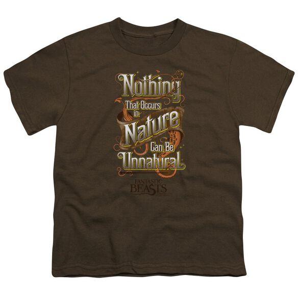 Fantastic Beasts Unnatural Short Sleeve Youth T-Shirt