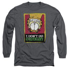 Garfield I Dont Do Ordinary Long Sleeve Adult T-Shirt