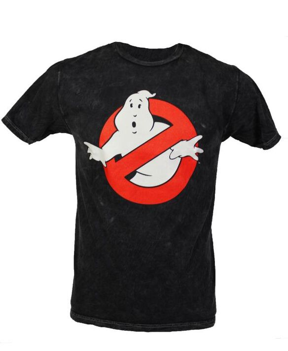 Ghostbusters Glow in the Dark Logo T-Shirt