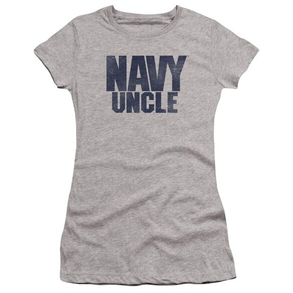 Navy Uncle Premium Bella Junior Sheer Jersey Athletic