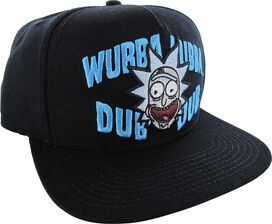 Rick and Morty Wubba Lubba Snapback Hat