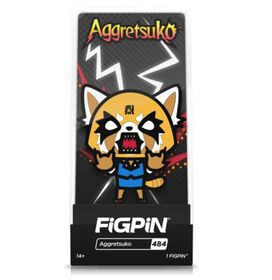 Aggretsuko Angry FiGPiN