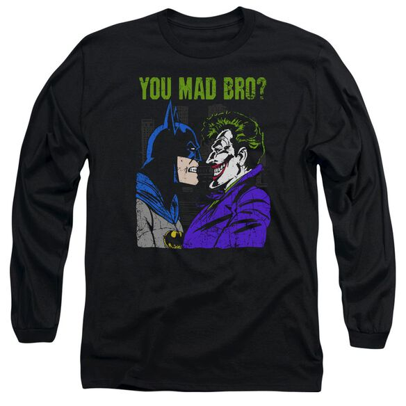 Dc Mad Bro Long Sleeve Adult T-Shirt