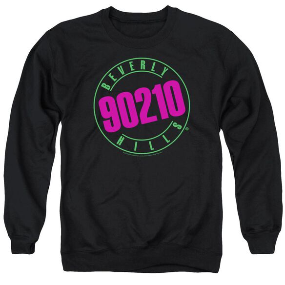 90210 Neon Adult Crewneck Sweatshirt