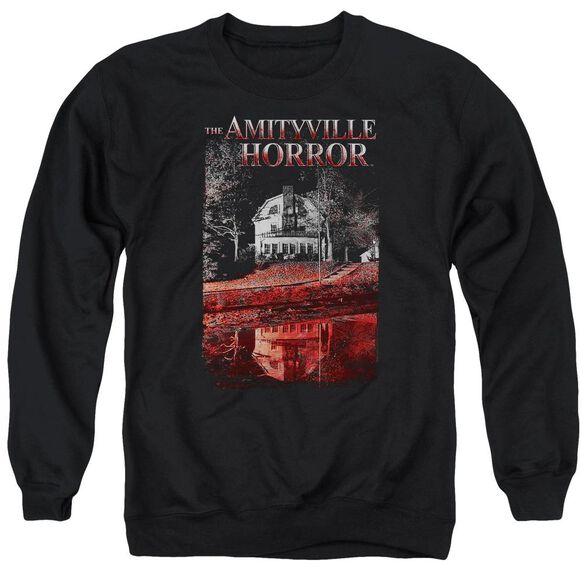 Amityville Horror Cold Blood Adult Crewneck Sweatshirt