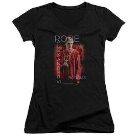 Borgias Pope Alexander Vi Junior V Neck T-Shirt