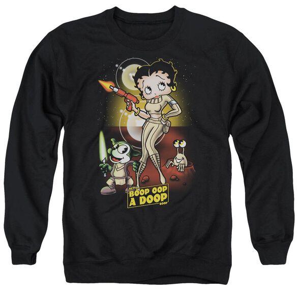 Betty Boop Star Princess Adult Crewneck Sweatshirt