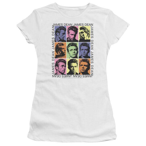 Dean James Color Block Short Sleeve Junior Sheer T-Shirt