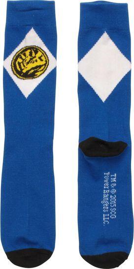Power Rangers Blue Crew Socks