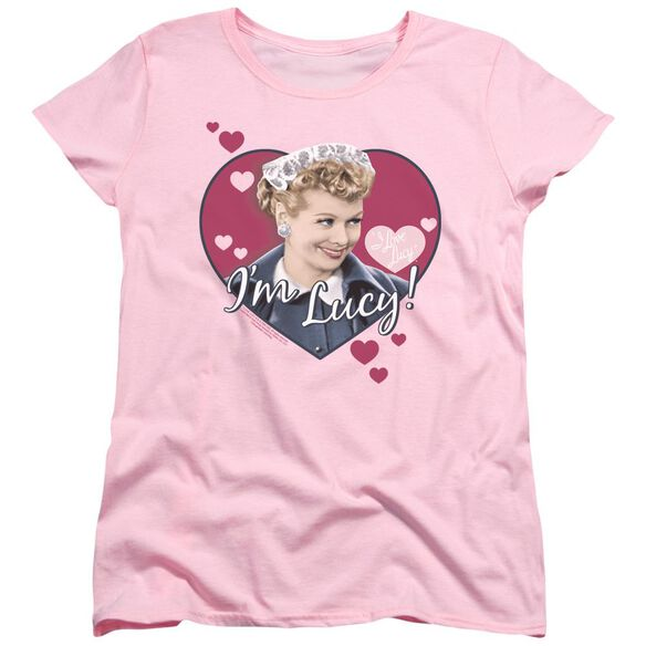 I Love Lucy Im Lucy Short Sleeve Womens Tee T-Shirt