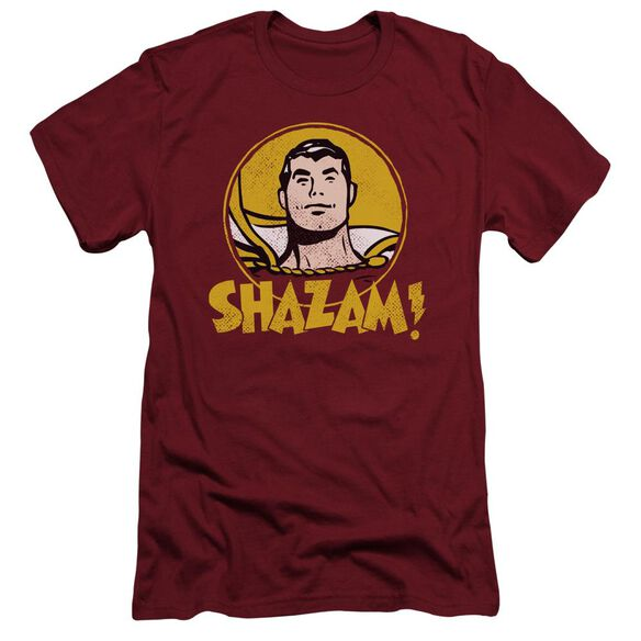 Dc Shazam Circle Short Sleeve Adult T-Shirt