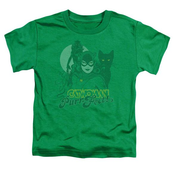 Dc Perrfect! Short Sleeve Toddler Tee Kelly Green Sm T-Shirt
