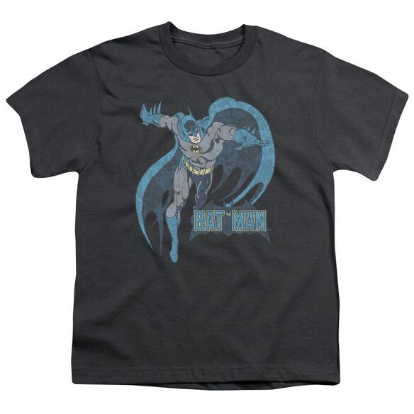 Dco Desaturated Batman Short Sleeve Youth T-Shirt