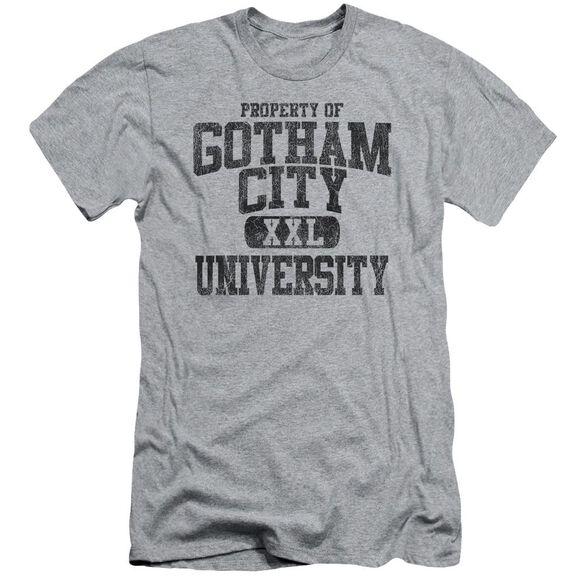 Batman Property Of Gcu Short Sleeve Adult Athletic T-Shirt