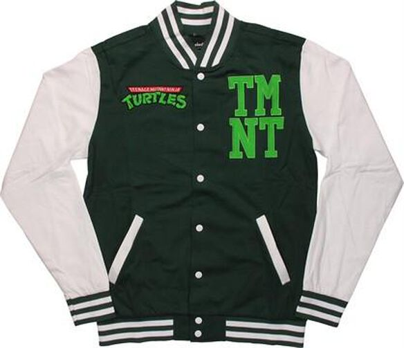 Ninja Turtles Letterman Shell Snap Jacket