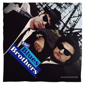Blues Brothers Poster Poly 22 X22 Bandana