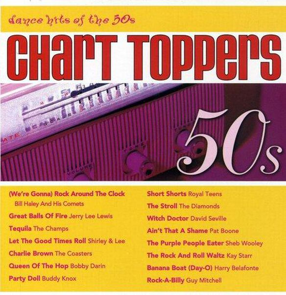 Chart Toppers: Dance Hits Of 50's / Various