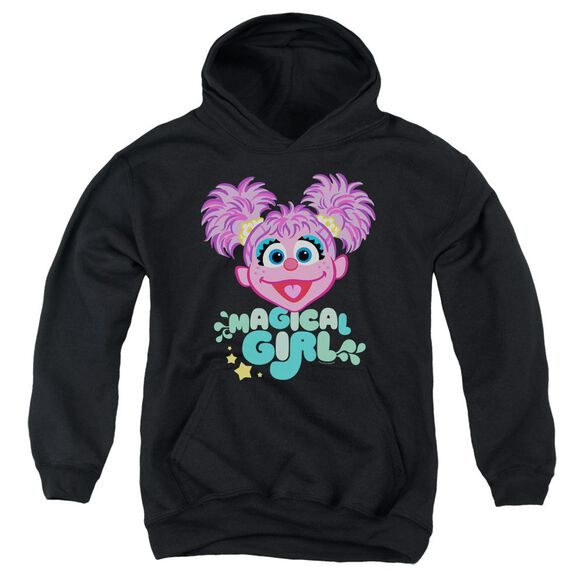 Sesame Street Scribble Head Youth Pull Over Hoodie