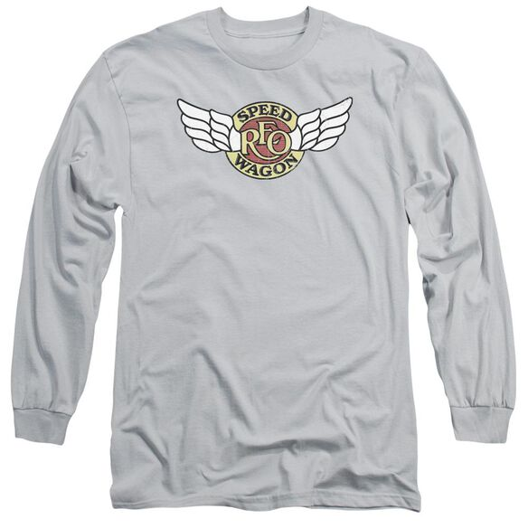 Reo Speedwagon Winged Logo Long Sleeve Adult T-Shirt