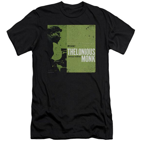 Thelonious Monk Work Short Sleeve Adult T-Shirt