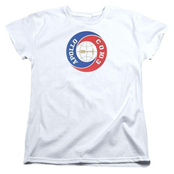 Nasa Apollo Soyuz Short Sleeve Womens Tee T-Shirt