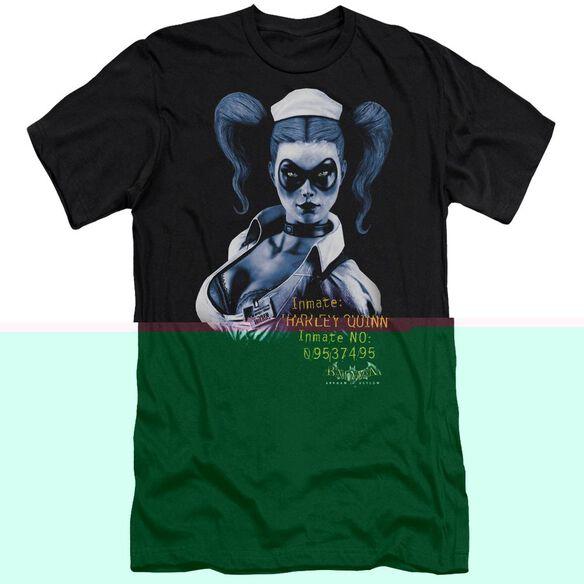 BATMAN AA ARKHAM HARLEY QUINN - S/S ADULT 30/1 - BLACK T-Shirt
