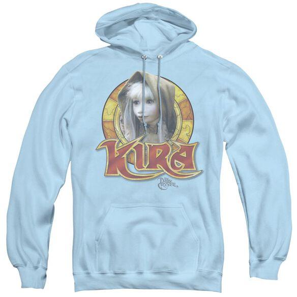 Dark Crystal Kira Circle - Adult Pull-over Hoodie - Light Blue