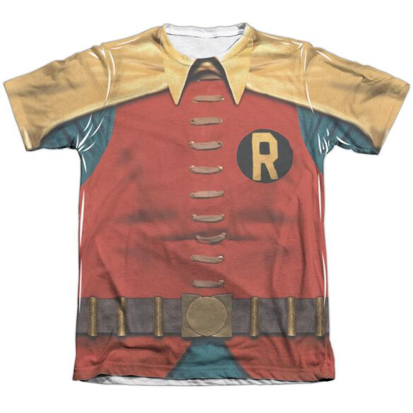 Batman Classic Tv Robin Costume Adult Poly Cotton Short Sleeve Tee T-Shirt