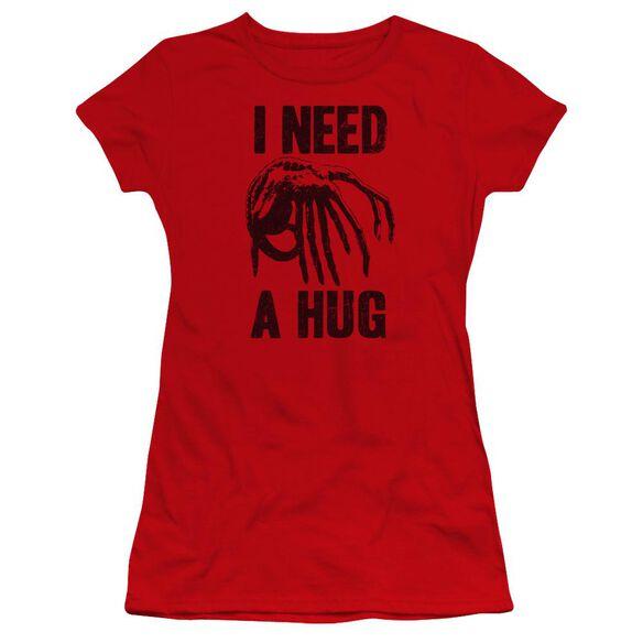 Alien Need A Hug Premium Bella Junior Sheer Jersey