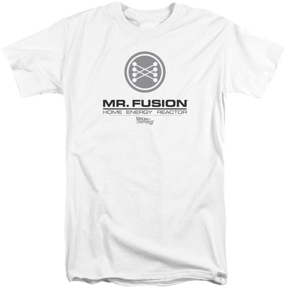 Back To The Future Ii Mr. Fusion Logo Short Sleeve Adult Tall T-Shirt