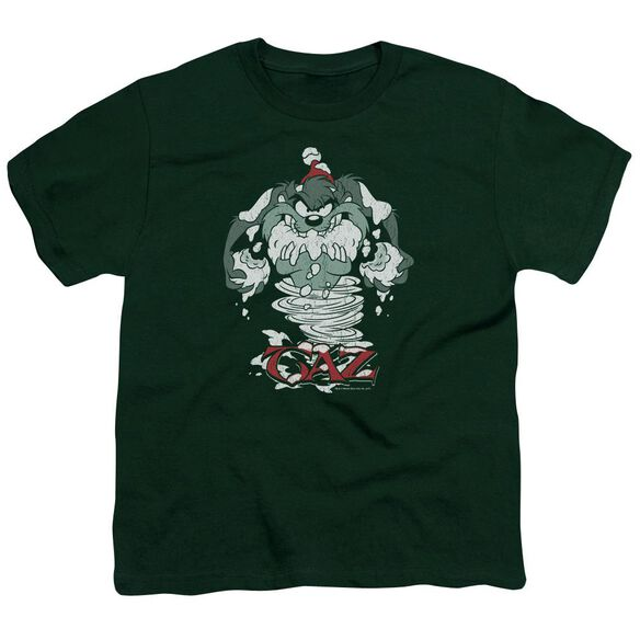 Looney Tunes Abominable Tazman Short Sleeve Youth Hunter T-Shirt