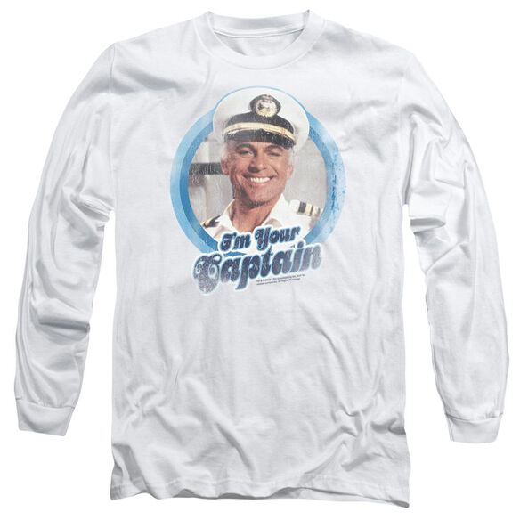 Love Boat Im Your Captain Long Sleeve Adult T-Shirt