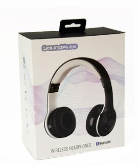 SoundAura SAHB239 Wireless Bluetooth Headphones [Black]