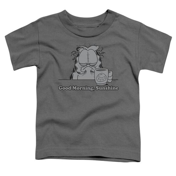 GARFIELD GOOD MORNING SUNSHINE - S/S TODDLER TEE - CHARCOAL - T-Shirt