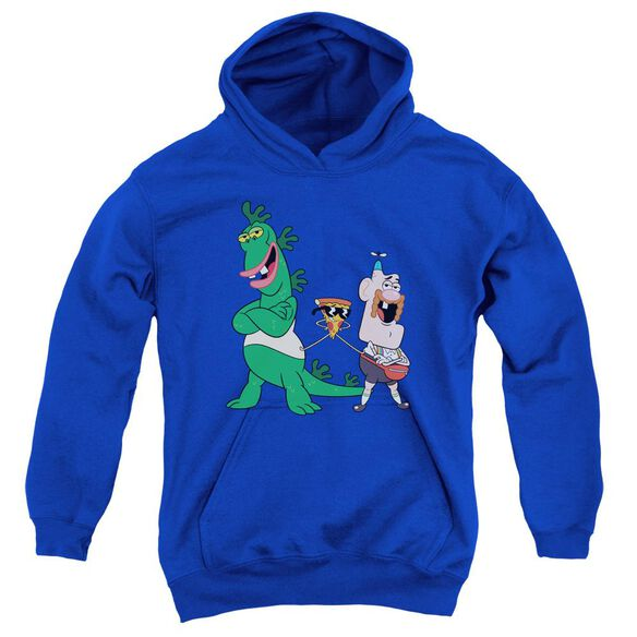 Uncle Grandpa The Guys Youth Pull Over Hoodie Royal