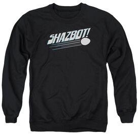 Mork &Amp; Mindy Shazbot Egg Adult Crewneck Sweatshirt