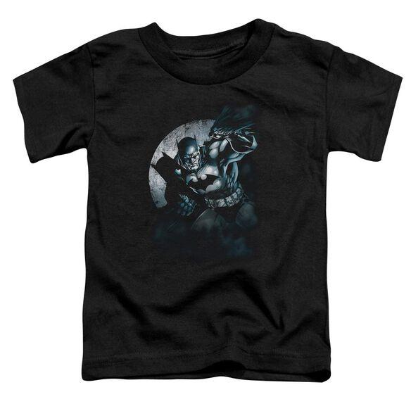 Batman Batman Spotlight Short Sleeve Toddler Tee Black Lg T-Shirt